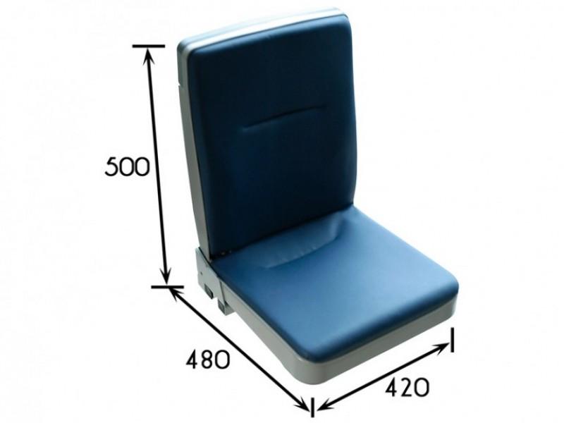 une petite place, un siège vite repliable